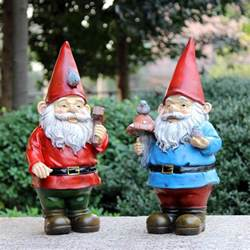 aliexpress com buy handmade vintage free resin garden figurines gnomes for sale poly resin