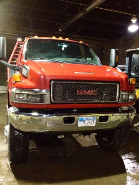 gmc  kodiak  crew cab  big truck tires