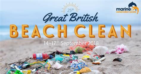 great british beach clean national awareness days