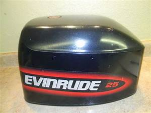 Evinrude 25 35 Hp Hood Cowl Cowling Cover 1996
