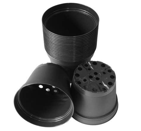 dachpfannen kunststoff schwarz 20 stk pflanztopf aus kunststoff g 228 rtnertopf innentopf schwarz gartencenter pflanzgef 228 223 e t 246 pfe