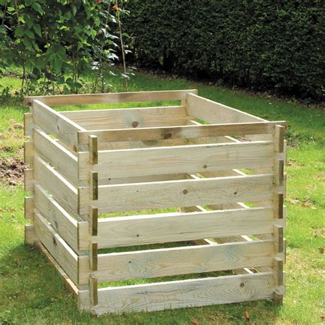 wooden compost bin wooden compost bins fast delivery greenfingers 6957