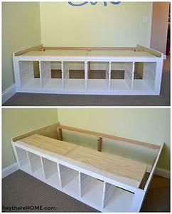 Ikea Hacks Podest : ikea hack diy twin storage bed grandson in 2019 pinterest bedroom bed storage and diy ~ Watch28wear.com Haus und Dekorationen