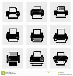 19 Vector Printer People Icons Images - Printer Icon ...