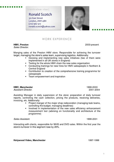 Professional Curriculum Vitae Exles by Pin By Nancy Ward On Crafts Resume Format