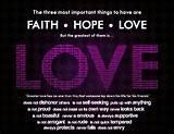 Faith hope love latin
