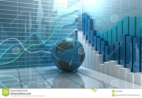 Abstract Economics Wallpaper by Stock Market Abstract Background Royalty Free Stock Image