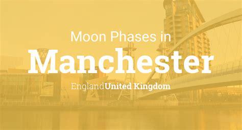 moon phases  lunar calendar  manchester england