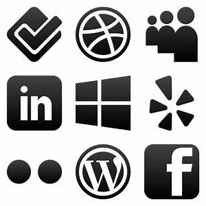 Social media clipart png no background