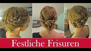 Festliche Frisuren Zum Selbermachen : festliche frisuren youtube ~ Buech-reservation.com Haus und Dekorationen