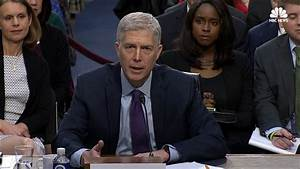 Gorsuch Calls Roe v. Wade 'Precedent' That Has 'Been ...
