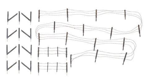 HO Scale Barbed Wire Fence   Hobbies
