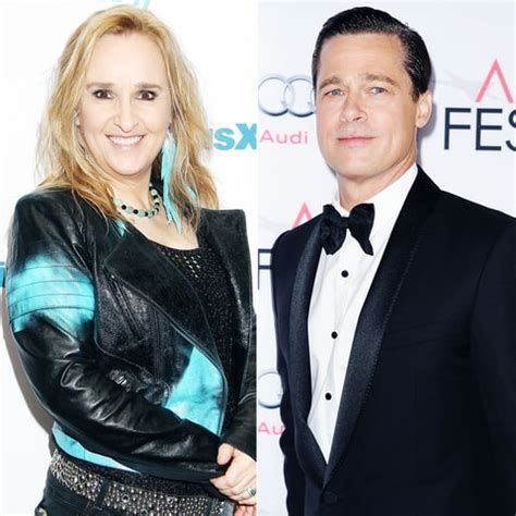 brad pitt    sperm donor  melissa etheridge