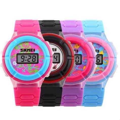 jual jam tangan anak perempuan original skmei import warna pink di lapak jam import original