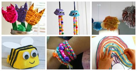20 absolutely fantastic easy yarn crafts for to make 466 | More than 20 yarn crafts for kids to make
