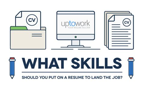 Websites To Put Your Resume On by How To Showcase Your Skills On A Resume Infographic