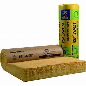 Laine De Verre 120mm : rouleau de laine de verre isoconfort 35 isover ep ~ Dailycaller-alerts.com Idées de Décoration