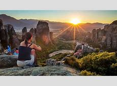 Majestic Sunset on Meteora Rocks Tour METEORAcom