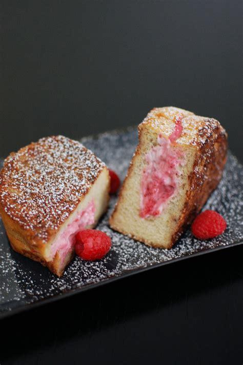Raspberry Cream Cheese Stuffed French Toast Beantown Baker