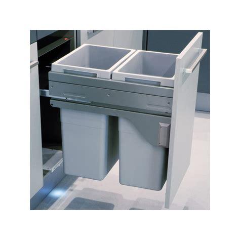 poubelle de cuisine encastrable poubelle bacs 70l gris clair ilovedetails com