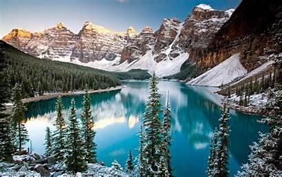 Winter Mountain Desktop Wallpapersafari