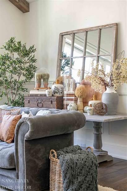 Fall Decorating Living Simple Sanctuary Any Sanctuaryhomedecor