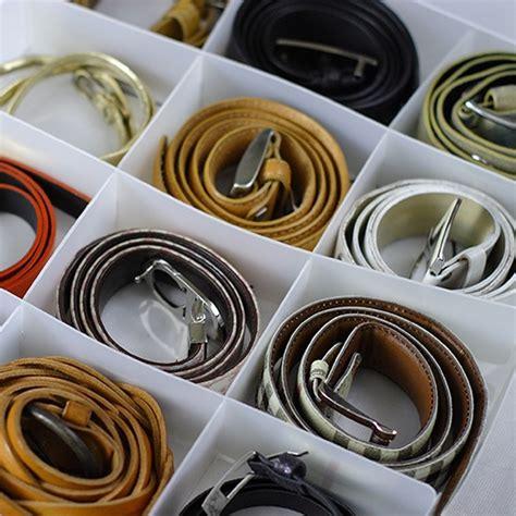 storage ideas belts organizing bliss closet
