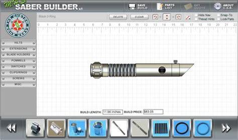 design your own lightsaber my lightsaber saga the gadgeteer