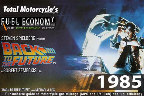 1985 Motorcycle Model Fuel Economy Guide In Mpg And L/100km
