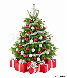 Weihnachtsbaum Rot Weiß : eleganter weihnachtsbaum und geschenke in rot wei und silber freisteller kaufen sie dieses ~ Yasmunasinghe.com Haus und Dekorationen