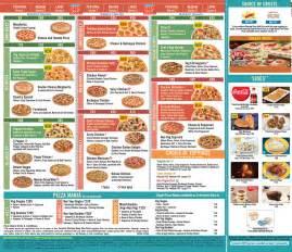 Domino's Pizza Online Menu