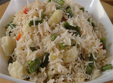 sopa urdu ingdrie ntes how to make vegetable pulao recipe by masterchef sanjeev kapoor