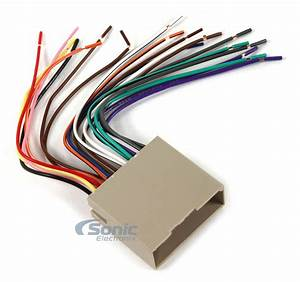 Scosche Fd23b Aftermarket Stereo Wire Harness For 2003