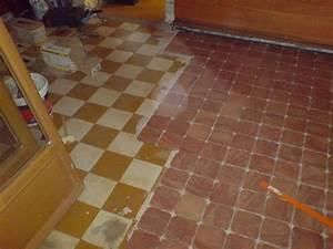 Carreler Sur Ancien Carrelage : pose carrelage 15x15 sur ancien carrelage centerblog ~ Premium-room.com Idées de Décoration