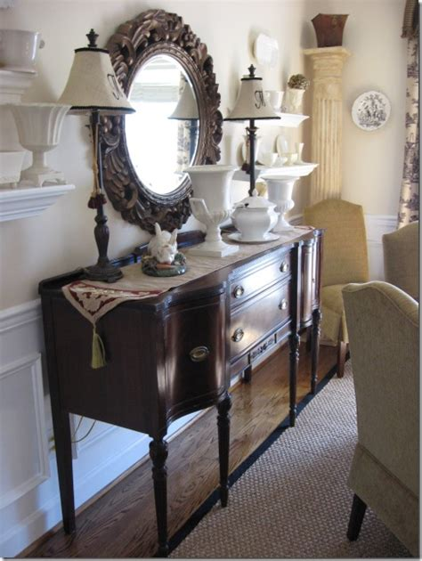 Decorating Dining Room Buffets And Sideboards by A Classic Dining Room Southern Hospitality