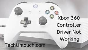 Xbox 360 Controller Driver Not Working Windows 10  4