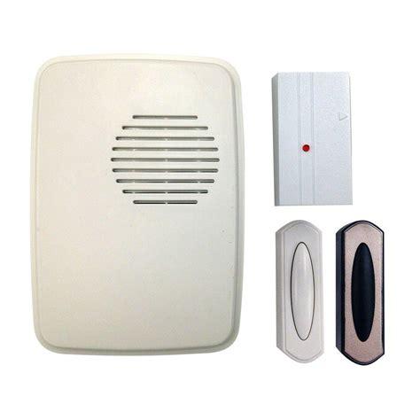 wireless door bells hton bay wireless door bell and mail reminder kit hb