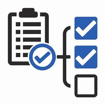 Project Management Icon Deliverables Vector Clipart Checklist