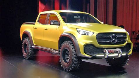Mercedes X-class Pickup Concept World Premiere