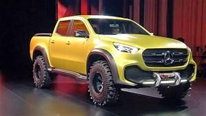Mercedes Class X : mercedes x class pickup concept world premiere youtube ~ Melissatoandfro.com Idées de Décoration