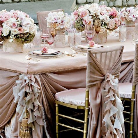 reception table linen set  archives weddings romantique