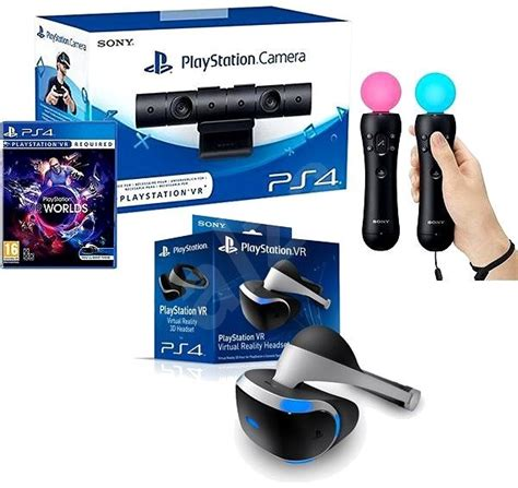 playstation vr  ps vr worlds game ps camera ps