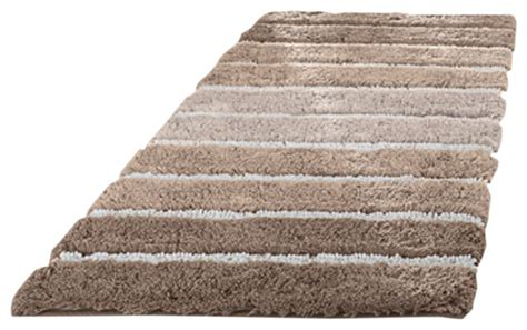 Large Bathroom Rugs And Mats by Eco Living Taupe Machine Washable Bathroom Rug
