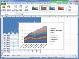 Cumulative Flow Diagram  U2013 How To Create One In Excel 2010