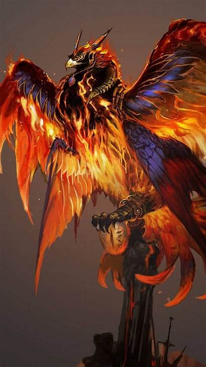 Phoenix Android Backgrounds Wallpapers Resolution Phone Mobile