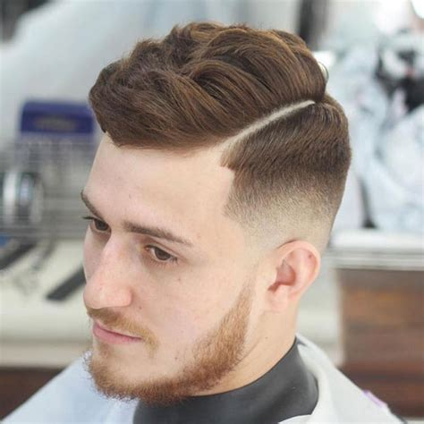 side part hairstyles parted haircuts  men