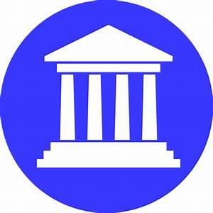 Government Building Sky Blue Clip Art at Clker.com ...
