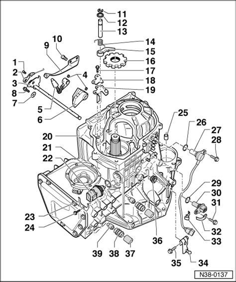 Skoda Transmission Diagram by Skoda Workshop Manuals Gt Octavia Mk1 Gt Power Transmission