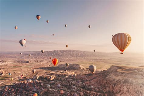 Hot Air Ballooning In Cappadocia Turkey So Magical