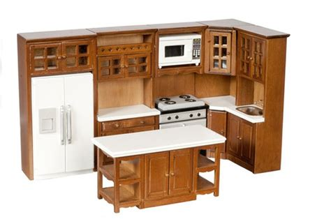 12 Scale Complete 8 Piece Kitchen